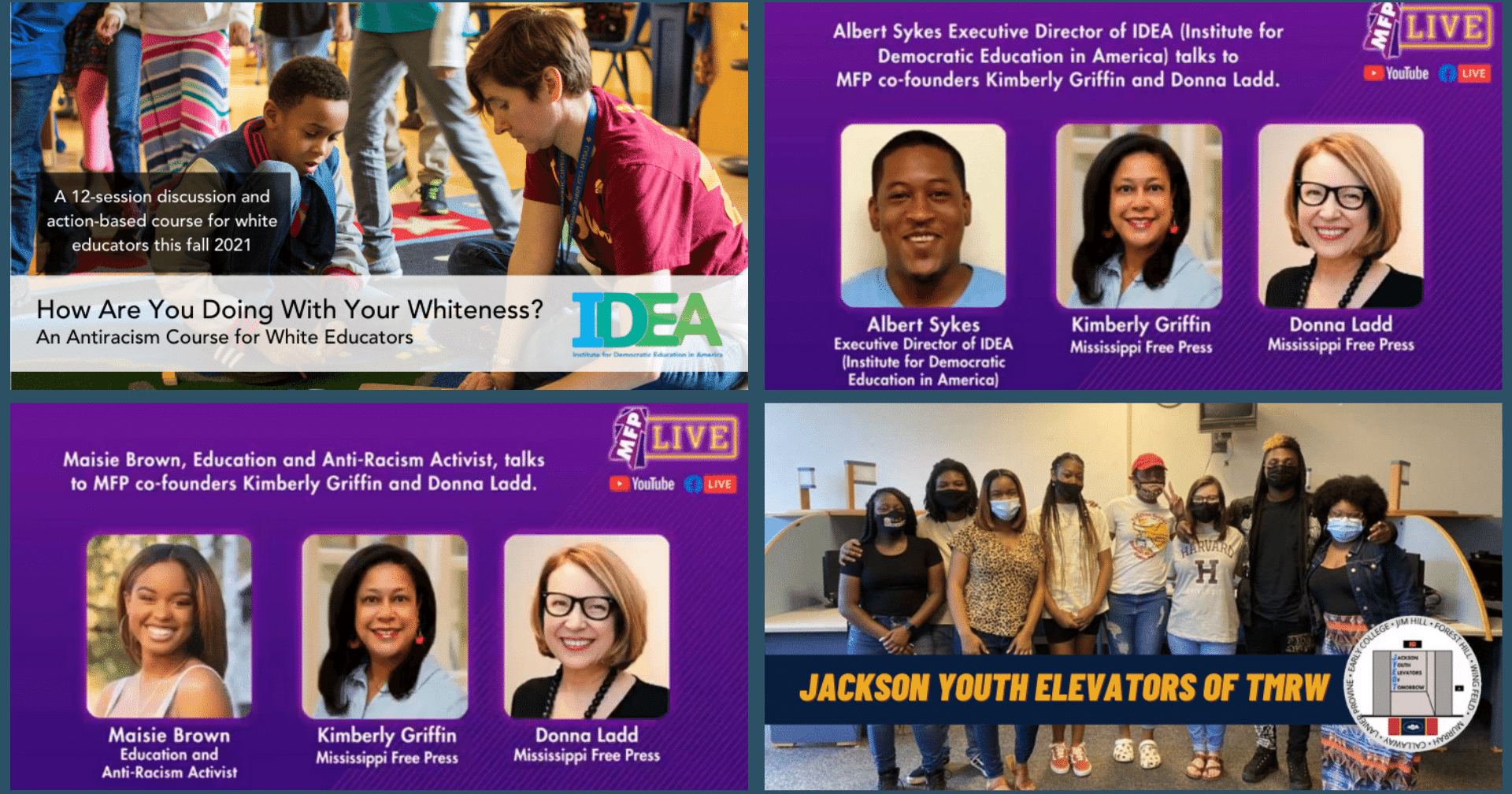 IDEA's Fall Antiracism Course + Welcoming New Staff